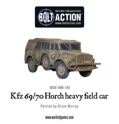 Kfz 69/70 Horch heavy field car - German - Bolt Action
