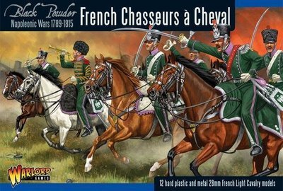 French Chasseurs a Cheval - Black Powder - Warlord Games