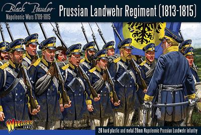 Prussian Landwehr regiment 1813-1815 - Black Powder - Warlord Games