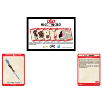 Dungeons & Dragons - D&D Magic Item Card Deck (292 cards) - EN