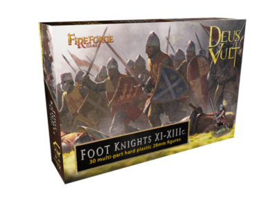 Foot Knights XI-XIIIc. - Deus Vult - Fireforge Games