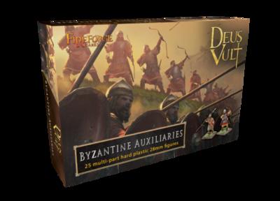 Byzantine Auxiliaries (25) - Deus Vult - Fireforge Games