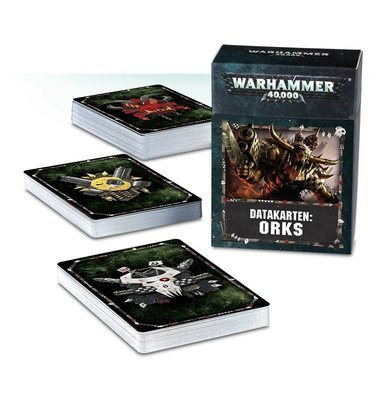 Datakarten: Orks Deutsch - Warhammer 40.000 - Games Workshop