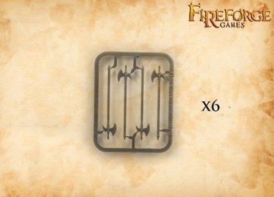 Halberts Type 1 (24) - Deus Vult - Fireforge Games