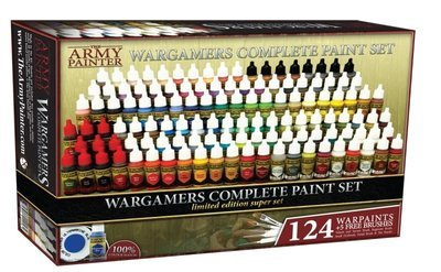 Warpaints Complete Wargamers Paint Set 2018 (limitiert) - Army Painter Warpaints
