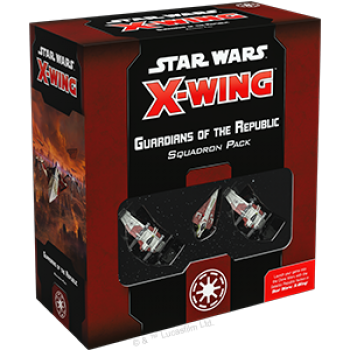 Star Wars X-Wing: Guardians of the Republic Squadron Pack - Deutsch