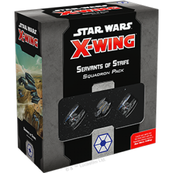 Star Wars X-Wing: Servants of Strife Squadron Pack - EN