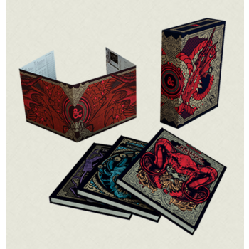 Dungeons & Dragons D&D RPG - Core Rulebook Gift Set CE Alternate Cover - EN