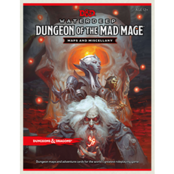 Dungeons & Dragons D&D RPG - Dungeon of the Mad Mage Maps and Miscellany - EN
