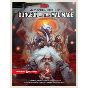 Dungeons & Dragons D&D RPG - Dungeon of the Mad Mage RPG Book - EN
