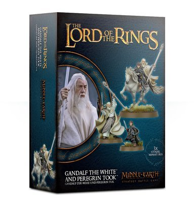 Gandalf™ der Weiße und Peregrin Tuk™ - Lord of the Rings LotR - Games Workshop