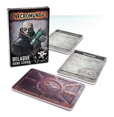 Delaque Gang Cards (Englisch) - Games Workshop