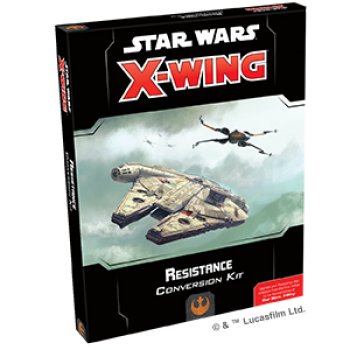 Star Wars X-Wing Konvertierungsset Widerstand (2.Ed) - Conversion Deutsch