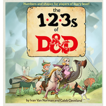 D&D Dungeons&Dragons - 123s of D&D - EN