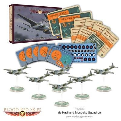 Dehavilland Mosquito Squadron - Blood Red Skies - Warlord Games