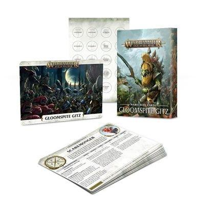 Schriftrollen-Karten. Gloomspite Gitz - Warhammer Age of Sigmar - Games Workshop