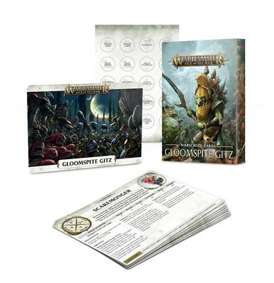 Warscroll Cards: Gloomspite Gitz (English) - Warhammer Age of Sigmar - Games Workshop