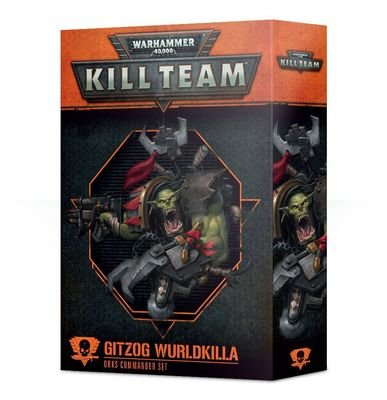 Kill Team: Gitzog Wurldkilla Ork Commander Set (Englisch) - Games Workshop