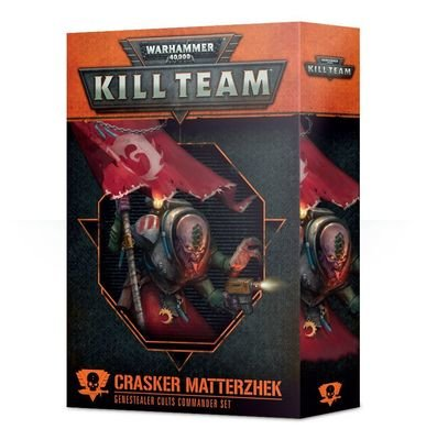 Kill Team: Crasker Matterzhek Kommandeur-Set der Genestealer Cults - Games Workshop