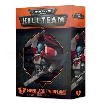 Kill Team: Fireblade Zweiflamm Kommandeur-Set des T'au Empires - Games Workshop
