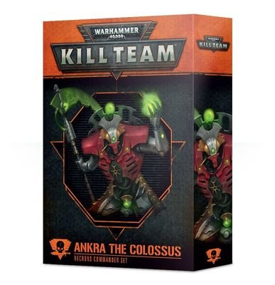 Kill Team: Ankra der Koloss Kommandeur-Set der Necrons - Games Workshop