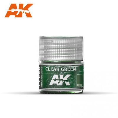 Clear Green - Real Colors - AK Interactive