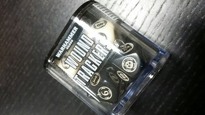 WARHAMMER 40000: WOUND TRACKERS Wundenmarker Ivory Schwarz - Games Workshop