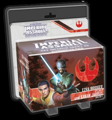 Ezra Bridger und Kanan Jarrus (Verbündete) - Star Wars: Imperial Assault - deutsch