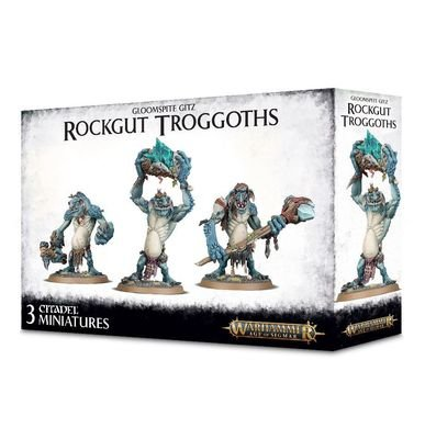 Rockgut Troggoths - Gloomspite Gitz - Warhammer Age of Sigmar - Games Workshop