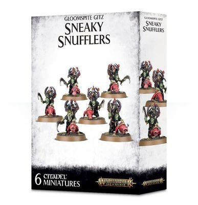 Sneaky Snufflers mit Snufflesquigs - Gloomspite Gitz - Warhammer Age of Sigmar - Games Workshop