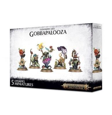 MO: Gobbapalooza (Scaremonger, Shroomancer, Boggleeye, Brewgit & Spiker) - Gloomspite Gitz - Warhammer Age of Sigmar - Games Workshop