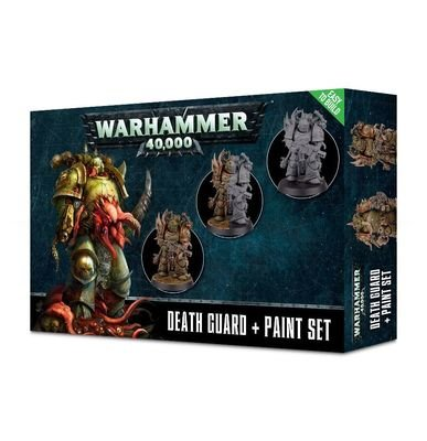 Death Guard Paint Set Gross - Warhammer 40.000 - Games Workshop