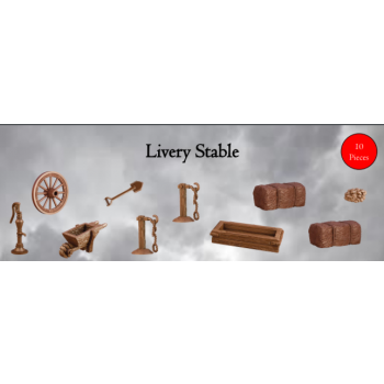 Livery Stable - Terrain Crate - Mantic Games