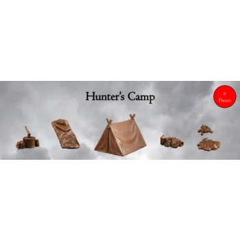 Hunter's Camp - Terrain Crate - Mantic Games