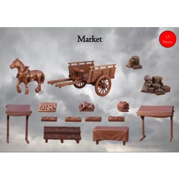 Market - Terrain Crate - Mantic Games