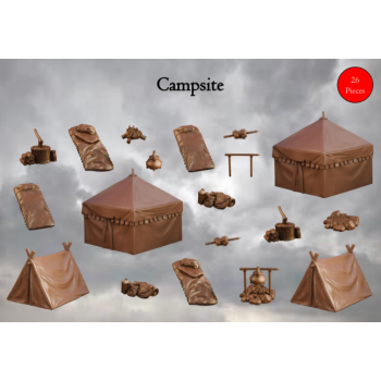 Campsite - Terrain Crate - Mantic Games