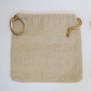 Flax Dice Bag 15x15CM - Würfeltasche