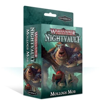 Warhammer Underworlds: Nightvault – Mollogs Mob (Deutsch)- Games Workshop