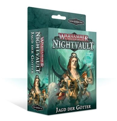 Warhammer Underworlds: Nightvault – Jagd der Götter (Deutsch)- Games Workshop