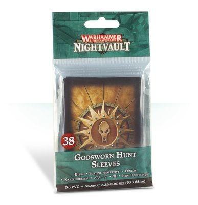 Kartenhüllen für Warhammer Underworlds: Nightvault – Jagd der Götter Sleeves - Games Workshop