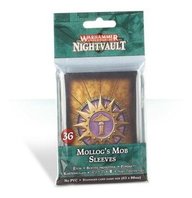 Kartenhüllen für Warhammer Underworlds: Nightvault – Mollogs Mob Sleeves - Games Workshop