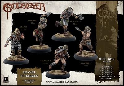 Reaver Tribesmen - Unit Box - Banebrood - Godslayer