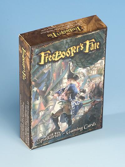 Spielkarten 1. Edition - Freebooter's Fate - deutsch/english