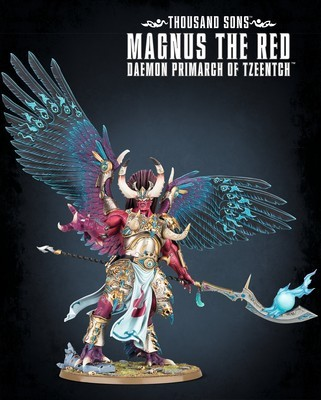 THOUSAND SONS MAGNUS THE RED  - Warhammer 40.000 - Games Workshop