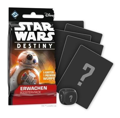 Star Wars: Destiny - Erwachen Booster - Einzelpack (Zufall)