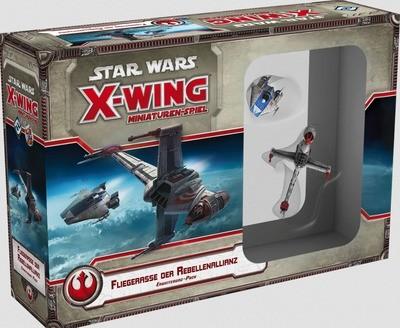 Star Wars: X-Wing Miniaturen-Spiel - Fliegerasse der Rebellenallianz Erweiterung-Pack Deutsch