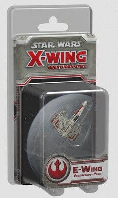 Star Wars: X-Wing Miniaturen-Spiel - E-Wing Erweiterung-Pack Deutsch