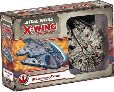 Star Wars: X-Wing Miniaturen-Spiel - Millennium Falke Falcon Erweiterung-Pack Deutsch