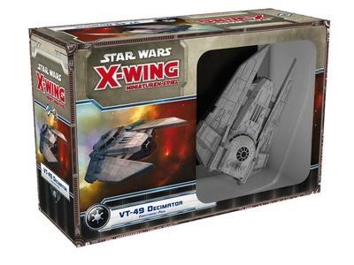 Star Wars: X-Wing Miniaturen-Spiel - VT-49 Decimator Erweiterung-Pack Deutsch