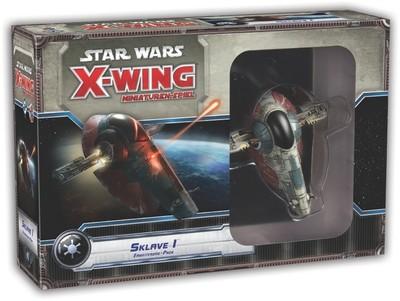Star Wars: X-Wing Miniaturen-Spiel - Sklave 1 Slave 1 Erweiterung-Pack Deutsch